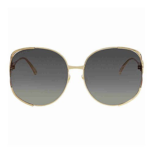 d0ee450cfb0 Gucci Gold Round Sunglasses Lens Category 3 Size 63mm Clout Wear ...