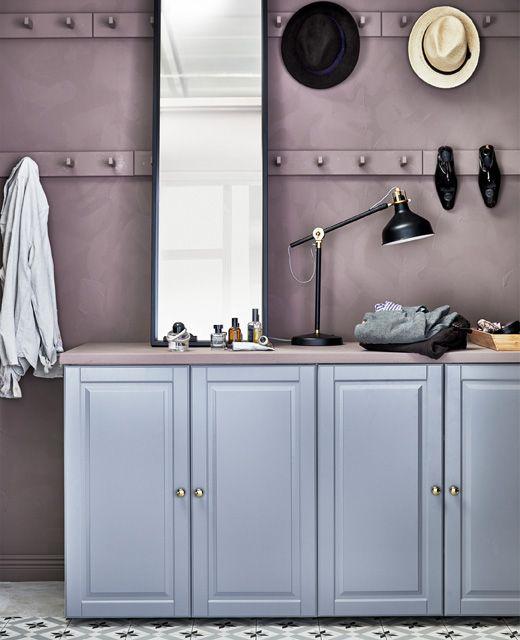 Il sistema componibile ELVARLI è adattabile ad ogni tipo di guardaroba, cabina armadio o mobile d'angolo - IKEA