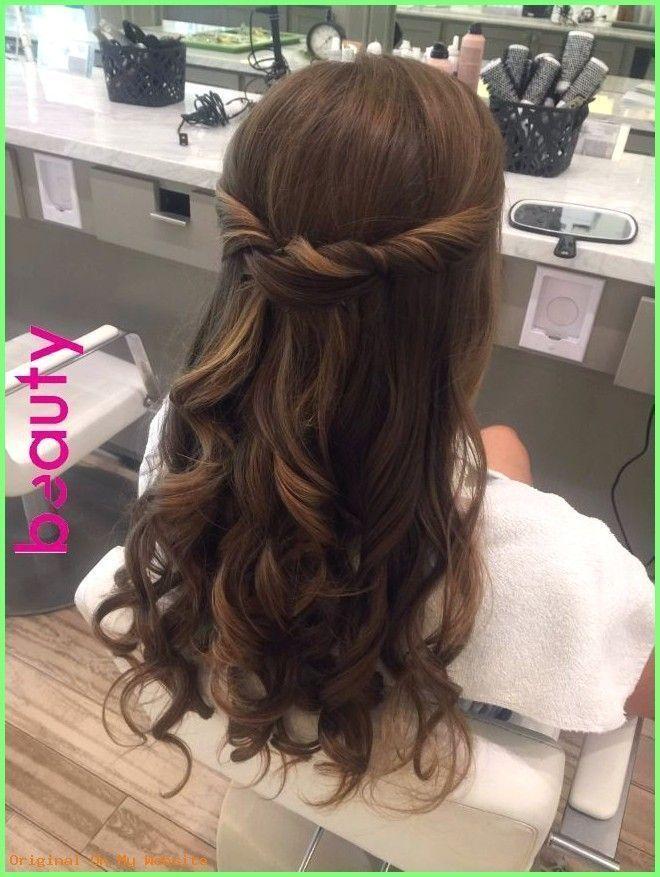 Prom Hairstyles 2019 - Cabello de dama de honor :) | Peinados en 2019 | Pinterest | P ..., #bra ...