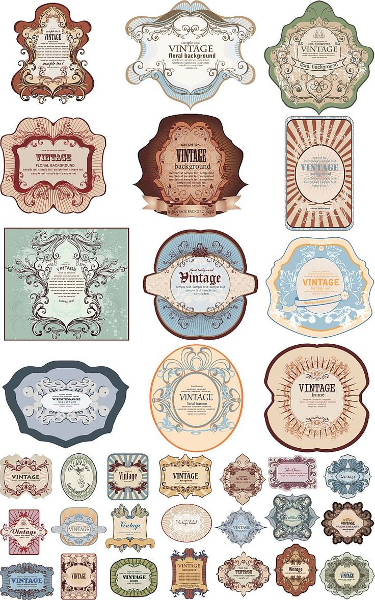 vintage-labels-vector