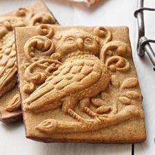 Chocolate Pumpkin Spiced Springerle Recipe | King Arthur Flour