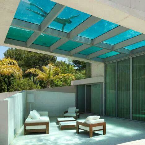 pool over patio
