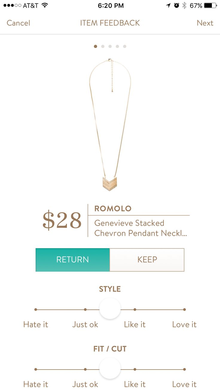 I know I put no jewelry but I would make an exception for this necklace!
