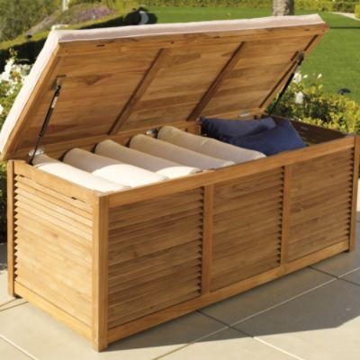 Patio Cushion Storage Ideas