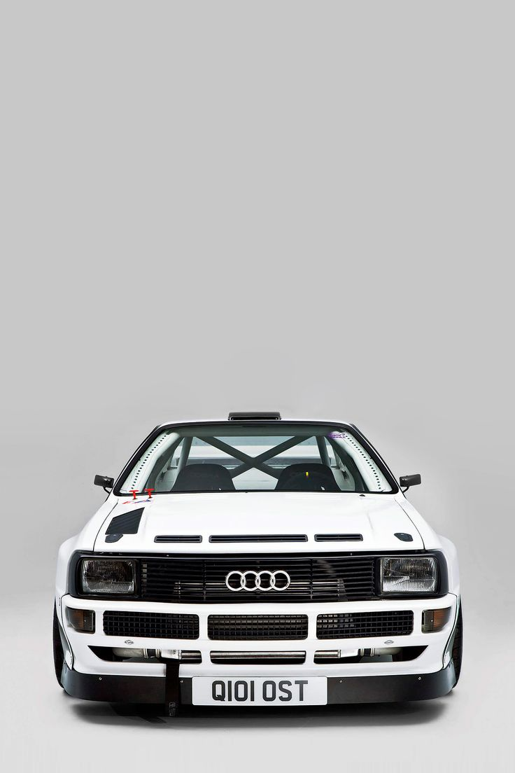 nostalgiashark:  adamlittledesign:  Hamish White's 700bhp Audi Quattro  I'd hit it.