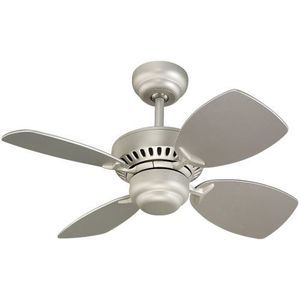 Monte Carlo Colony II 28 In. Indoor Ceiling Fan   Brushed Pewter   Designed  To Suit Any Home Or Office Decor, The Monte Carlo Colony II 28 In.