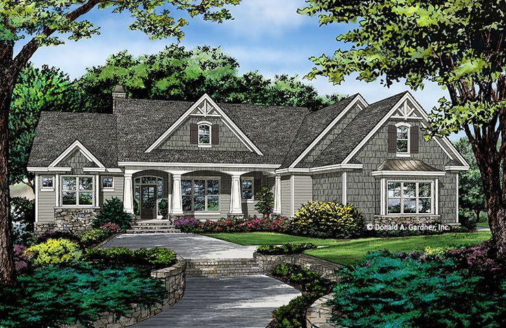 Best 25 house plans ideas on pinterest house floor for Donald a gardner craftsman house plans