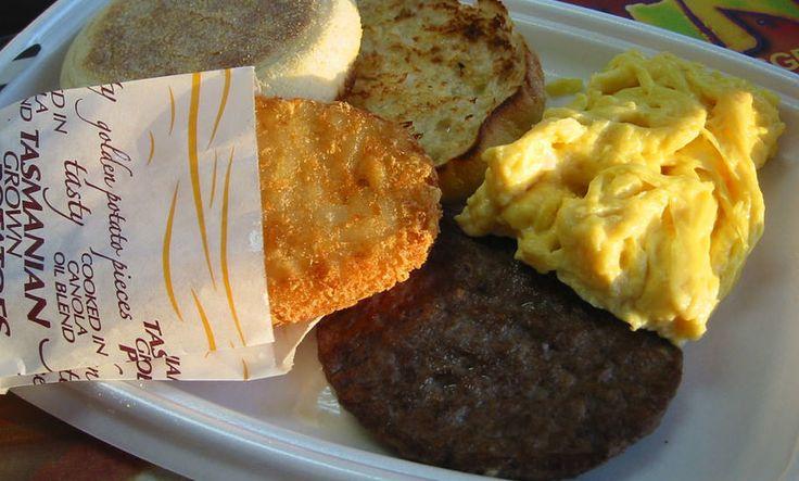 Short stories: McDonald's Big Breakfast