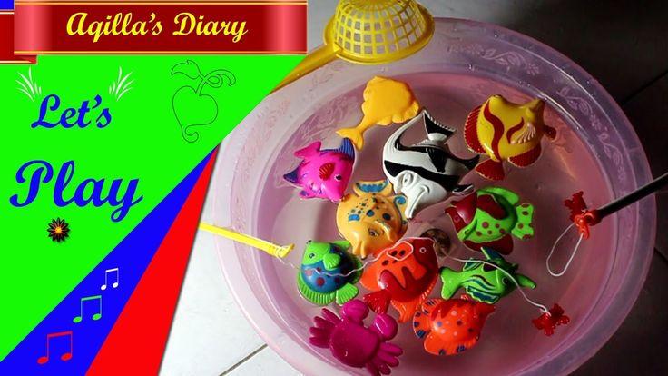 Mainan Anak - Aqilla Memancing Ikan