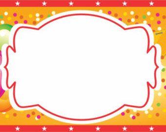 Топперы для десертов Цирк/ Circus Party cupcake por OkiDokiParty