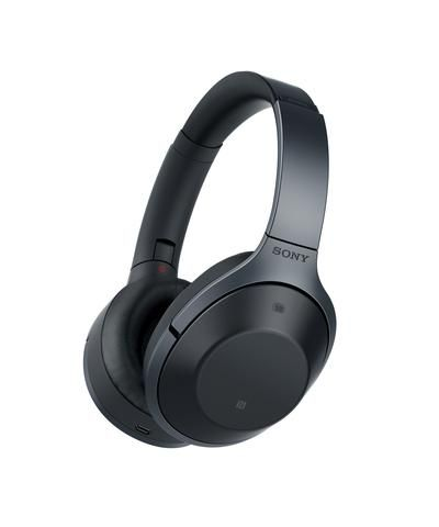 Sony MDR-1000X Wireless Noise Cancelling Headphones (Black)
