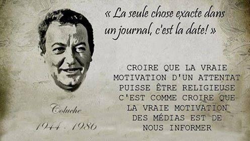 Coluche - 23 Citations