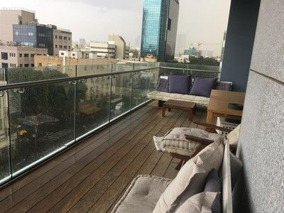 This Amazing Apartment Is Located In The Luxury Rothschild Tower, Tel Aviv  Center; Now You Can Enjoy With Comfort U0026 Watch The Boulevard And The Sea