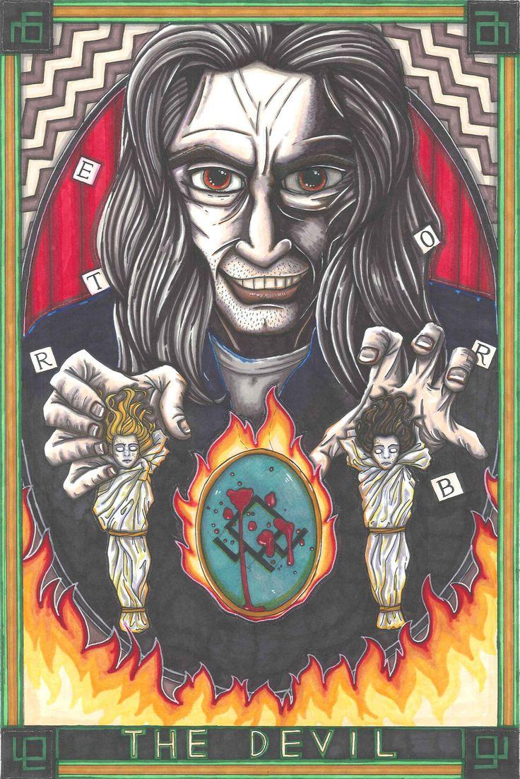 <3 Twin Peaks TAROT!!! <3 BOB /The Devil