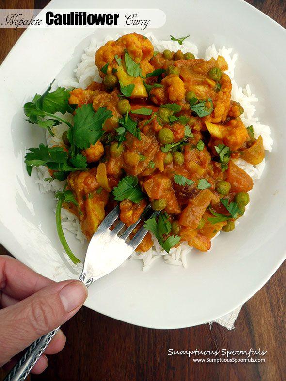 Nepalese Cauliflower Curry {Misayeko Tarkari}