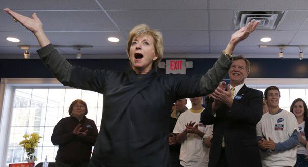 After dropping $100 million trying unsuccessfully to get herself elected to the Senate, wrestling executive Linda McMahon is trying a new experiment: spending big bucks on other people's campaigns. McMahon, whose status as the founder of the WWE pro wrestling franchise made her an irresistible subject for the national media and a rich political...