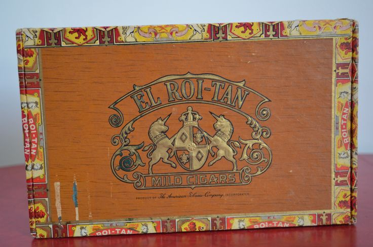 El Roi-Tan Mild Cigars Box http://cnctbay.wix.com/crowe-s-nest