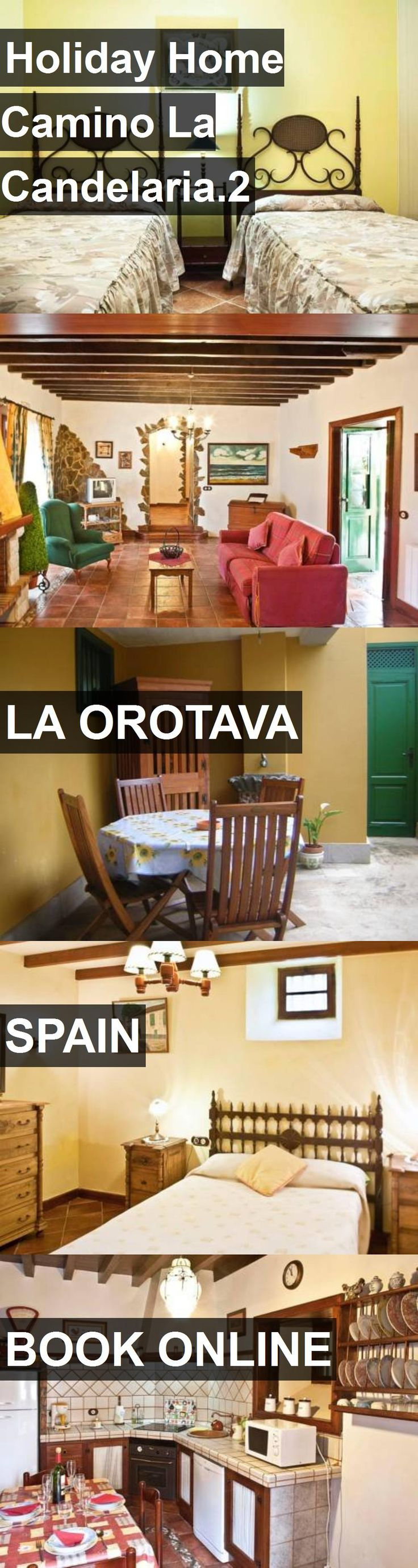 Hotel Holiday Home Camino La Candelaria.2 in La Orotava, Spain. For more information, photos, reviews and best prices please follow the link. #Spain #LaOrotava #travel #vacation #hotel