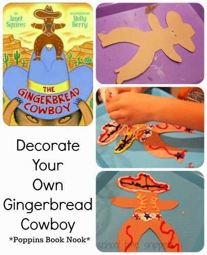 The Gingerbread Cowboy storybook Art Activity