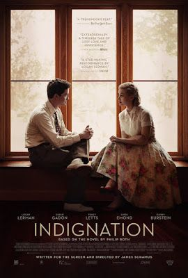 sandwichjohnfilms: INDIGNATION Poster & Trailer Starring Logan Lerman