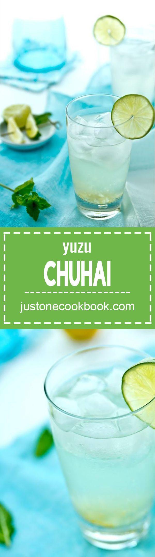 Yuzu Chuhai (Japanese Yuzu Cocktail) | Easy Japanese Recipes at JustOneCookbook.com