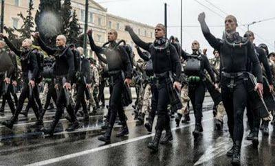 ΕΛΛΗΝΙΚΗ ΔΡΑΣΗ: Τα συνθήματα των ΟΥΚ στην παρέλαση της 25ης Μαρτίο...