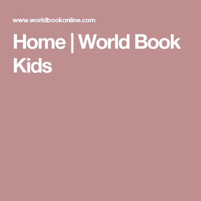 Home | World Book Kids