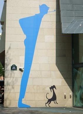Jacques Tati à Paris ! Exposition à la Cinémathèque Française (2009) sur cet immense cinéaste.