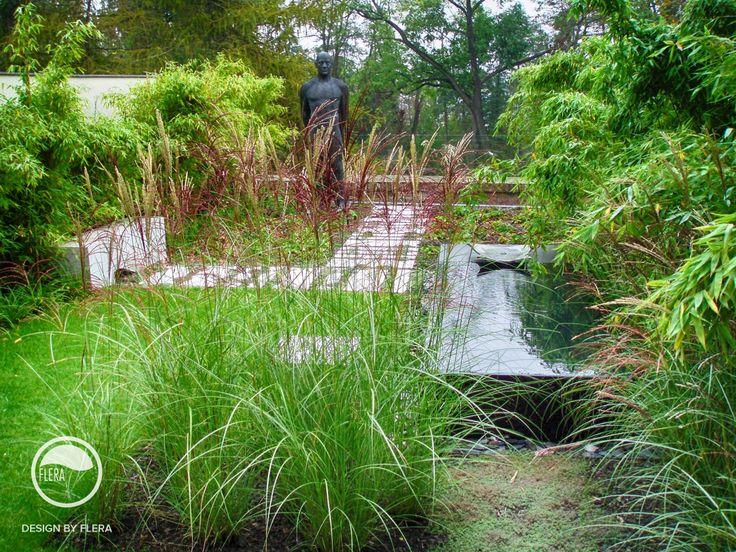 #landcape #architecture #garden #water #feature #sculpture #path
