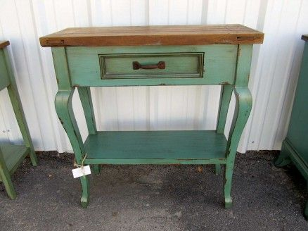 Small Entryway Table From Barrio Antiguo Houston TX