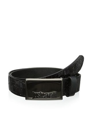Just Cavalli Men's Logo Belt (Black)