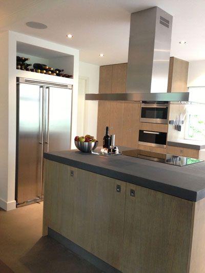 Keuken woonboerderij - Eken fronten - door Molitli Interieurmakers