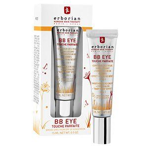 BB EYE TOUCHE PARFAITE 3-en-1 : soin lissant + anticernes + effet « peau de BB », un produit, triple effet pour la perfection de la peau délicate du