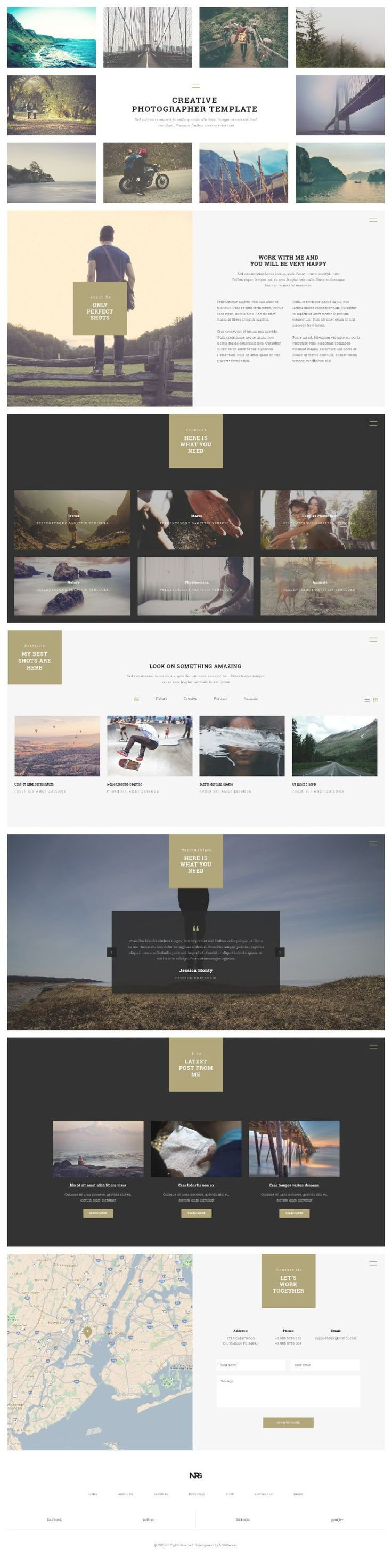 Web Design Inspiration from NRG part 2 1