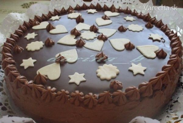 Čokoládová torta - Recept