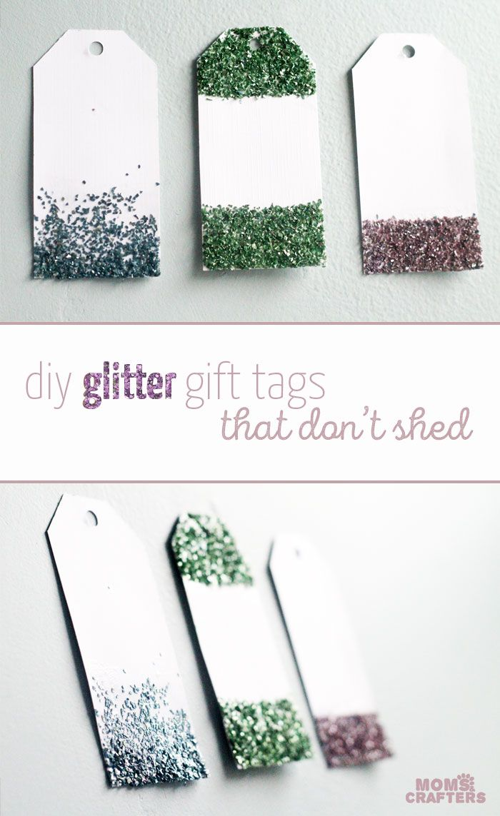 Best 25 glitter gifts ideas on pinterest diy mugs painted make these easy glitter gift tags teen craftsxmas craftspaper craftsdiy solutioingenieria