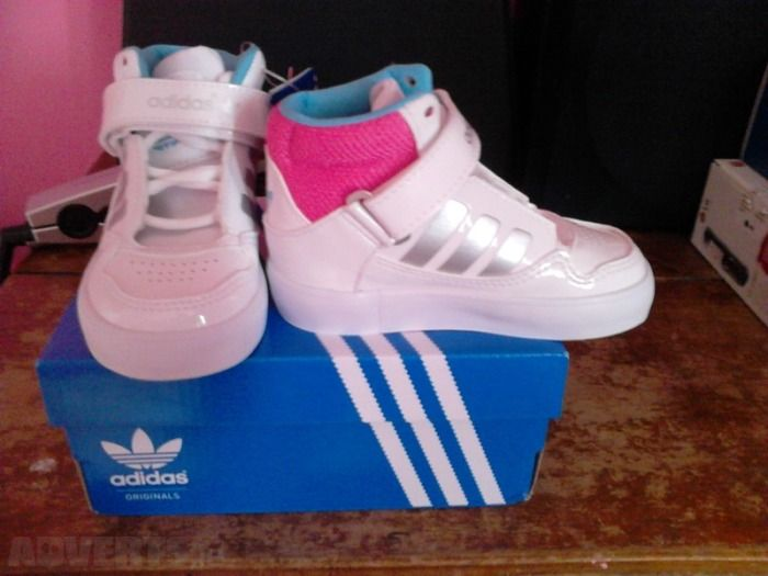 adidas superstars kids size 2 adidas shoes for girls high top pink ... 1e30f96f91