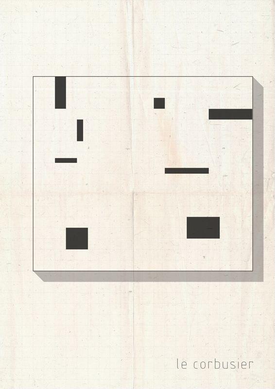 ABSTRARCH  Le Corbusier federico babina