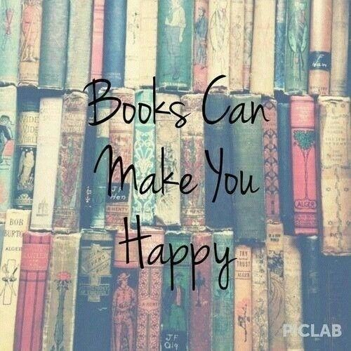 Books can make you happy
