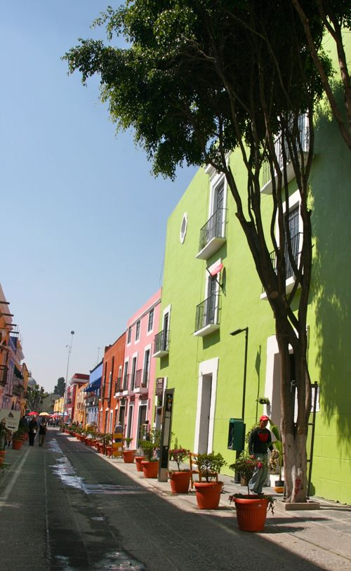Puebla, Mexico My hubby's Hometown. He walked these streets almost 2 years ago