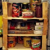 Use as pantry shelves, via Like Mother, Like Daughter