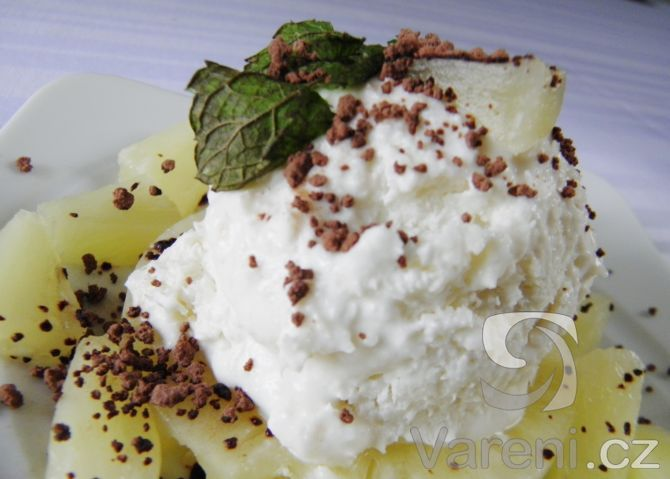 Recept na domácí kokosovou zmrzlinu