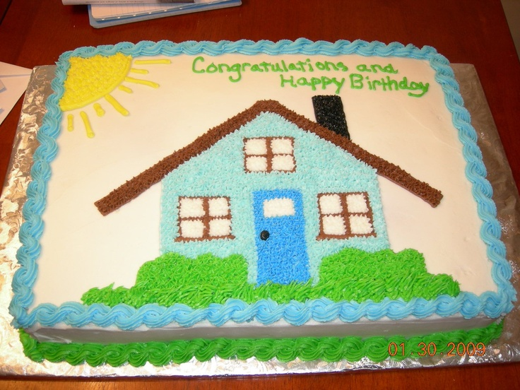 Cake Designs For Housewarming : 25+ best ideas about Housewarming cake on Pinterest ...