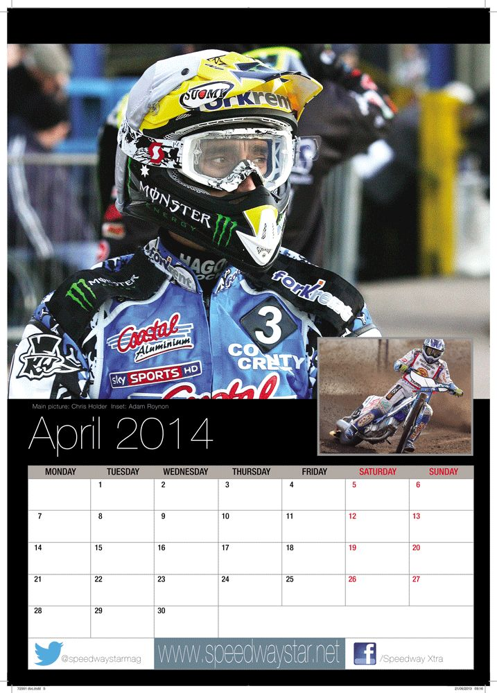 Main picture: Chris Holder  Inset: Adam Roynon http://www.azimuthprint.co.uk/printing/wall-calendars/