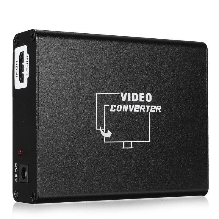 HD al adaptador de audio estéreo SCART Composite Video Converter para HD Blue Ray DVD