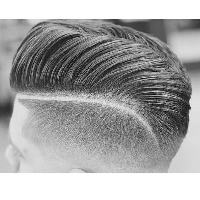 Below you will see many classic haircuts such as the comb over