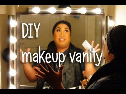 HOW TO: Makeup Vanity ★ patrickstarrr - YouTube