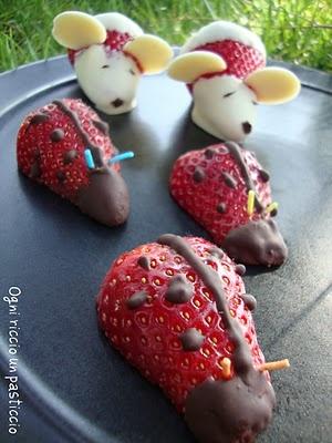 Topetti e Coccinelle - Questa è una ricetta di Erica Ferreri di Ogni Riccio un Pasticcio e viene pubblicata qui per sua gentile concessione (http://diariodellemiericette.blogspot.com)