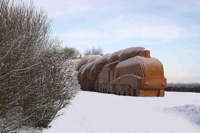 'Train' Sculpture, Darlington by Darlington Borough Council, via Flickr