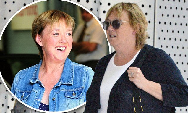 Pauline Quirke ditches her diet plan as she returns to fuller figure